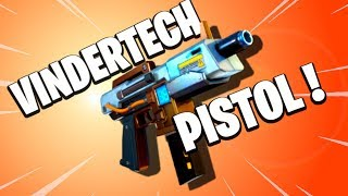 PEW! PEW! Vindertech Blazer Pistol | Fortnite Save the World PvE