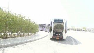 شاهد: حافلات ذاتية القيادة لنقل الجماهير خلال كأس العالم 2022 في قطر…