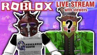 ROBLOX LIVE STREAM | NATURAL DISASTER, MURDER MYSTERY, AND MORE! {EPISODE 71}
