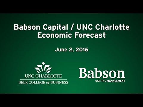 Babson Capital/UNC Charlotte Economic Forecast – June 2016