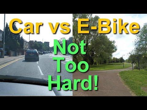 E Bike Lifestyle - EBike & Car Commuting Compared