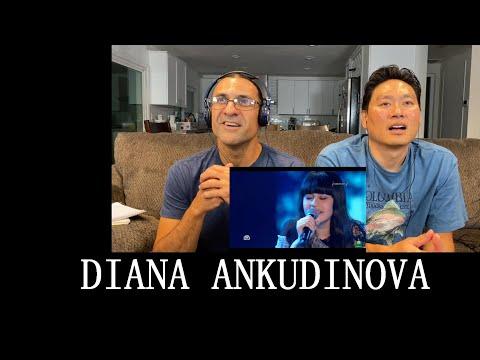 DIANA ANKUDINOVA - Реченька - Reaction