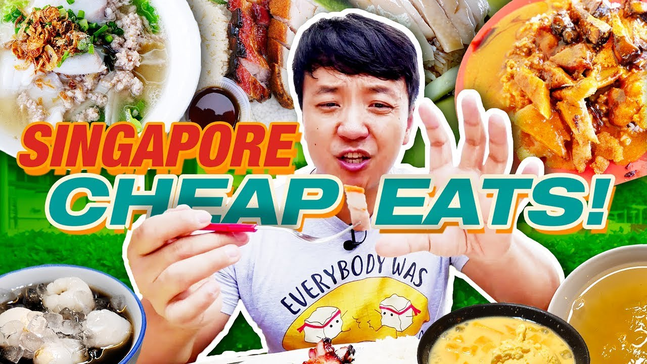 MUST TRY Singapore CHEAP EATS! Hawker Street Food Tour of Singapore image