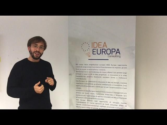 Corso Europrogettazione di Idea Europa