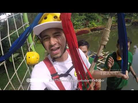 JANJI SUCI - Rafathar Takut Diajak Papa Raffi Naik Flying Fox (19/5/19) Part 1