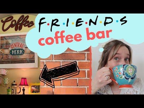 Central Perk Coffee Bar DIY | Coffee Station Makeover