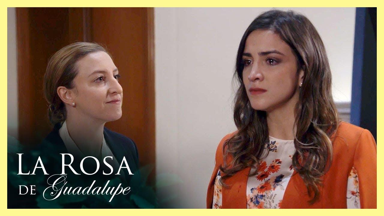 Maricruz le declara la guerra a Romina   La pasión del verdadero amor   La Rosa de Guadalupe