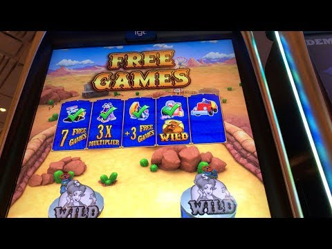 IGT Texas Tea Pinball Slot: Free Games Bonus Big Win