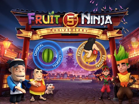 Fruit Ninja 5 year anniversary Festival Part 1 beat truffles and nobu