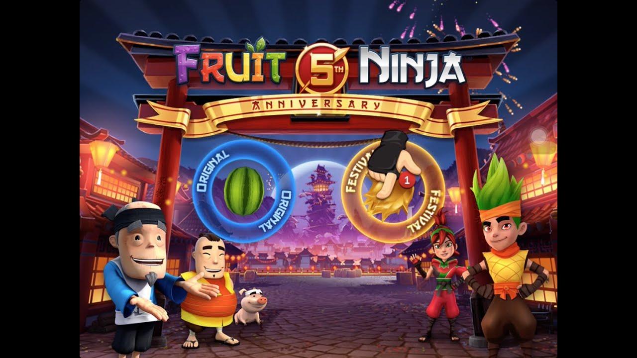 Fruit ninja 5 - Fruit Ninja 5 Year Anniversary Festival Part 1 Beat Truffles And Nobu Youtube