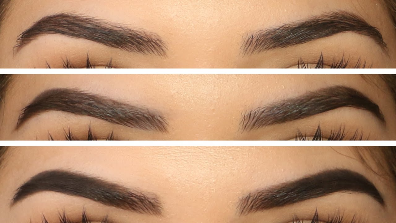 Image result for filling in eyebrows""