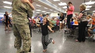 Soldiers Surprise Homecoming Compilation 23