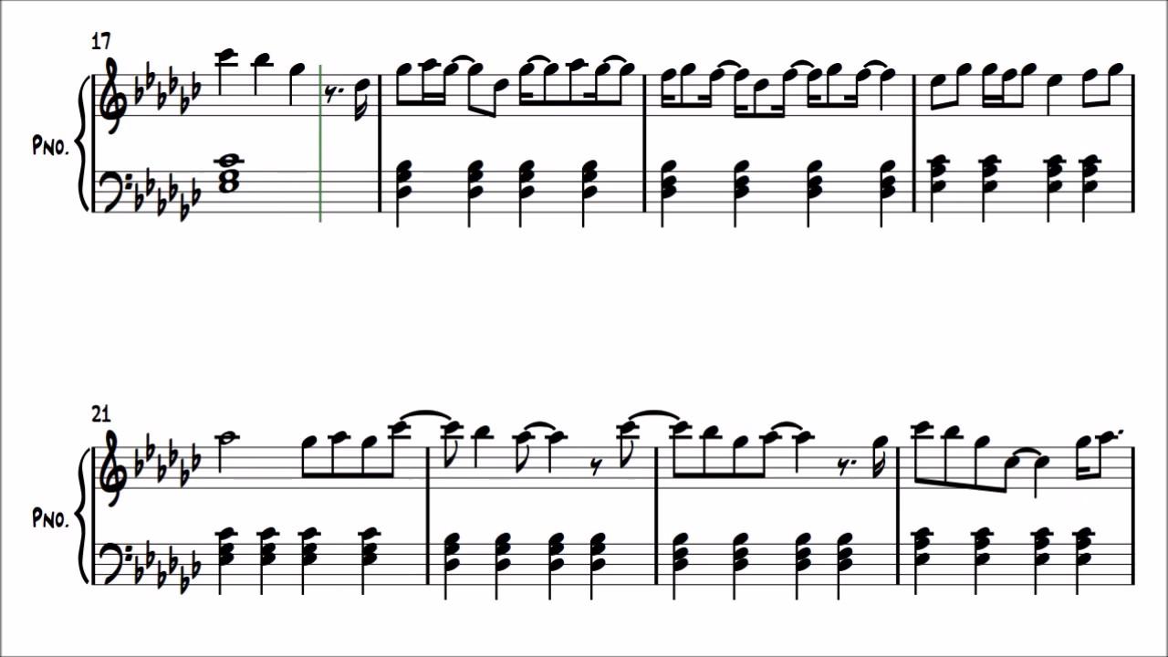 Molly Kate Kestner   His daughter   short piano version   FREE ...
