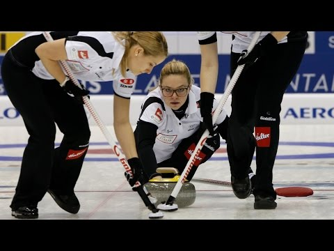 CURLING: SUI-CAN World Women's Chp 2015 - Gold