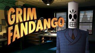 Grim Fandango Remastered Movie Full Walkthrough 1080p 60fps