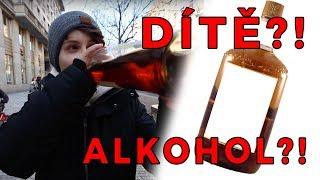 KOLIK LIDÍ ZASTAVÍ DÍTĚ S FLAŠKOU ALKOHOLU? (Sociální Experiment)