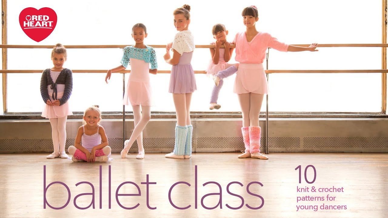 Ballet Class Free Crochet and Knit Pattern eBook from Red Heart ...