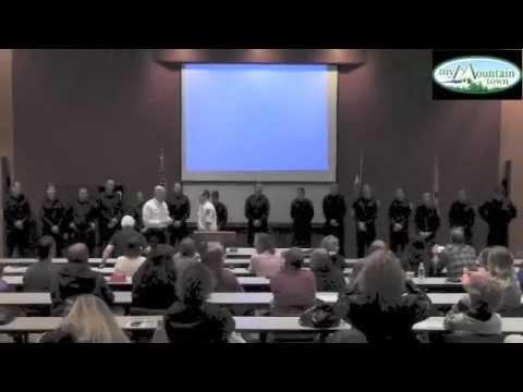 Evergreen Fire Rescue Academy Graduation Ceremony
