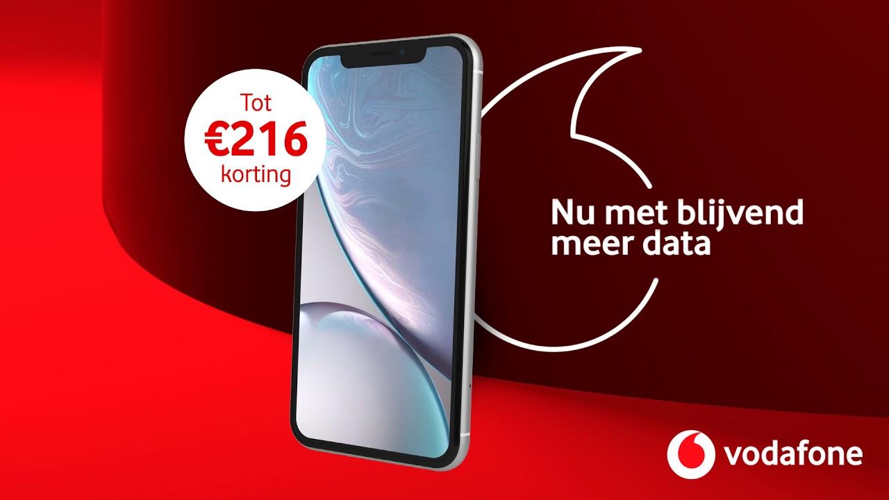 Vodafone: Nu met blijvend meer data