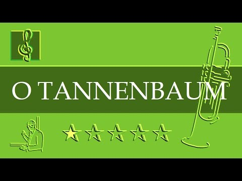 O Tannenbaum Text Deutsch.Trumpet Notes Tutorial Christmas Song O Tannenbaum Sheet Music