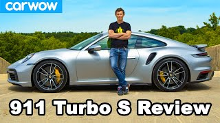 Porsche 911 Turbo S 2021 review - see how quick it REALLY is to 60mph!