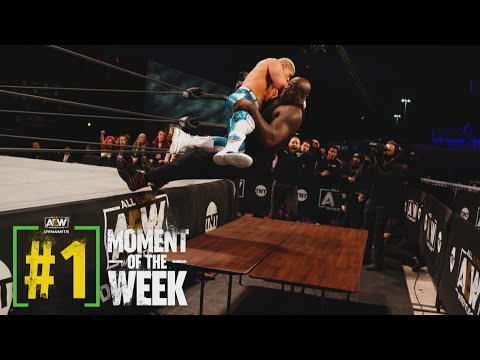 Shaq Gets Knocked Out by Cody Rhodes! | AEW Dynamite