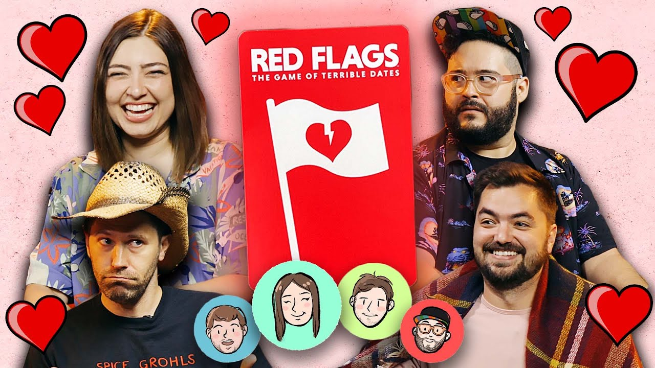 Going on TERRIBLE DATES with TERRIBLE PEOPLE (Let's Play RED FLAGS)