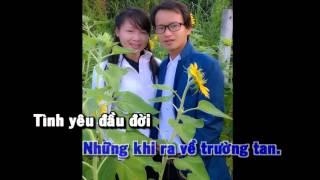 [ KARAOKE] HỌC TRÒ TRƯỜNG LÀNG (made by Hoangnampro)