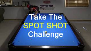 Spot Shot Challenge - Shot Making and Cue Ball Control Drill