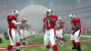 2007-2006 Arizona Cardinals 4 Stars Player Introductions Madden NFL 07 PS3