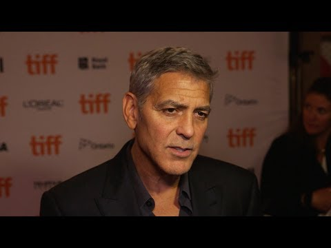 George Clooney needs just one word to describe Donald Trump