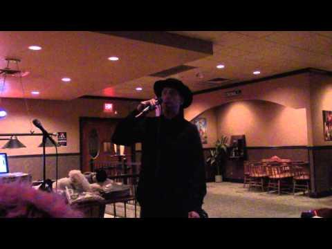 David Bowie - Andy Warhol - Mike karaoke @ Toro's Mar 2016