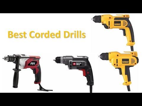 Best Corded Drills - Top 10 Drills Of 2018