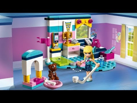 Lego Friends Stephanies Bedroom 41328