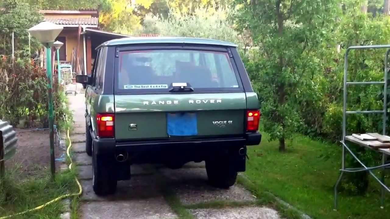 range rover classic v8 efi sound 1988 level 2 youtube. Black Bedroom Furniture Sets. Home Design Ideas