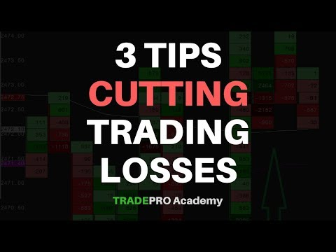 Cutting Trading Losses - 3 Tips From A Professional Day Trader