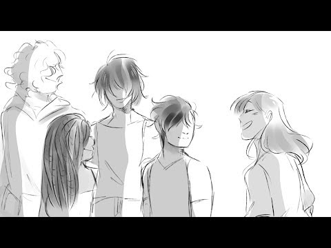 i made an anime op for my original characters