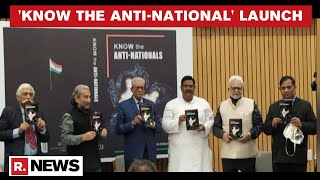 Col RSN Singh's Book 'Know The Anti-National' Book Launched