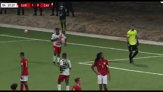 Suriname vs Cayman Islands WK Kwalificatie 2021 - Highlights