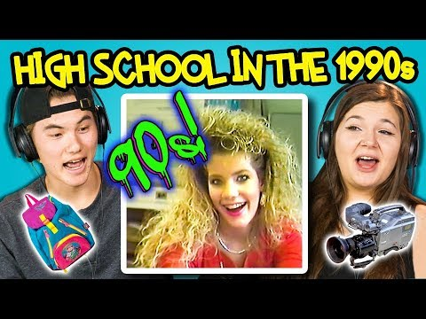 Download Youtube: Teens React to What High School Was like in 1990