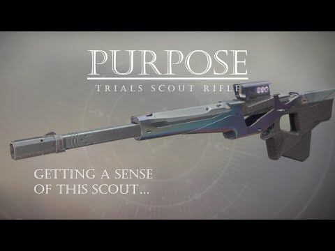 Doing PVP with Purpose - Trials Scout Rifle - Deastiny 2