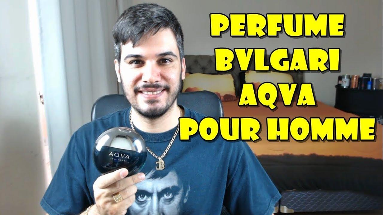 5f0ddb129b Resenha BVLGARI AQVA POUR HOMME - Perfume Importado Masculino - YouTube