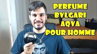 Resenha do perfume importado masculino Bvlgari Aqva Pour Homme. COM...