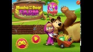 Мультик игра Маша и Медведь: Ферма (Masha and the Bear Farm)