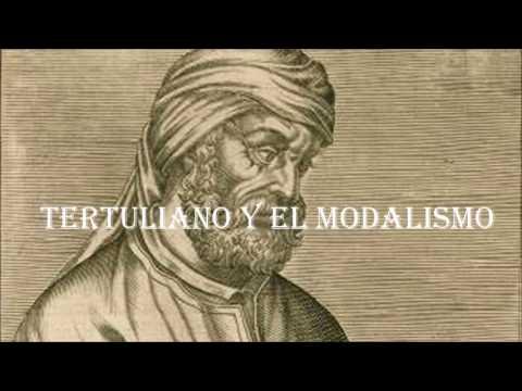 Tertuliano Y El Modalismo