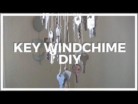 Key Wind Chime ♥ DIY