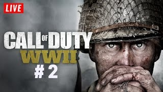 Call of duty WW2 #2  PC Gameplay Live   KTXtreme Gaming