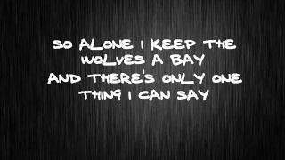 Train in vain - The Clash (Lyrics)