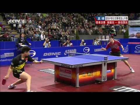 2013 German Open (ms-final) FAN Zhendong - OVTCHAROV Dimitrij [HD] [Full Match/Chinese]