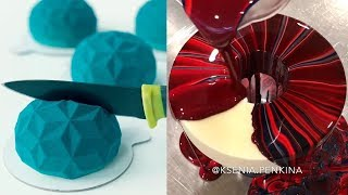 Talented Pastry Chef Creates The Most Mesmerizing Mirror Glaze Cakes